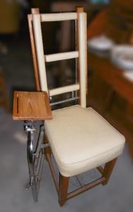 Ancienne chaise de kiné, années 60