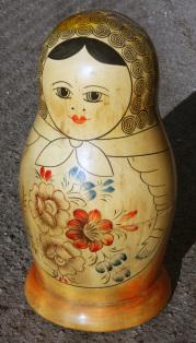 Série complète poupées russes Matriochka, vintage