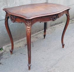 Table de jeux, régence, bois massif
