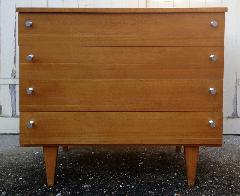 Commode bois, vintage, années 50