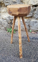 tabouret porte pot tripode