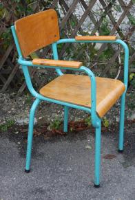 Chaise d'instituteur, années 40 - 50