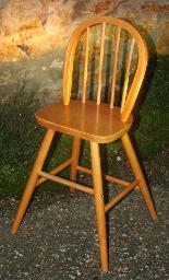 Chaise haute, scandinave, vintage