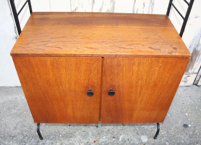 broc co tag res bois m tal tomado string vintage des ann es 1950 1960 et 1970. Black Bedroom Furniture Sets. Home Design Ideas