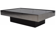 Table basse / bar, Willy Rizzo, années 70