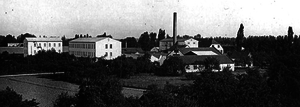 Usine Fischel, Wissembourg, Alsace, France