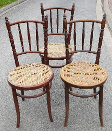 Chaises bistrot cannée Fischel, N°61