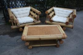 Salon Bambou, vintage