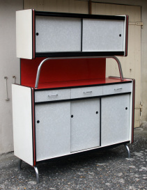 Buffet formica rockabilly années 50, formica