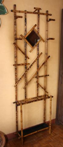 vestiaire bambou art déco, 1930