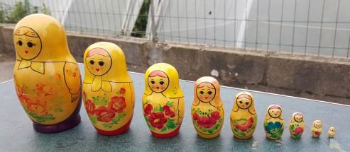 Poupées russes vintage années 60