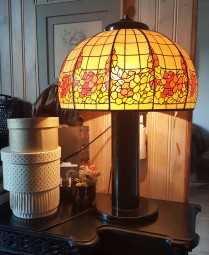 lampe a poser, vinage, style art deco 1930, belle époque
