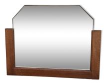 Miroir biseauté vintage années 50