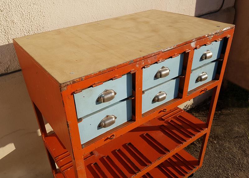 broc co meubles de m tiers en bois en m tal vintage industriel d co. Black Bedroom Furniture Sets. Home Design Ideas