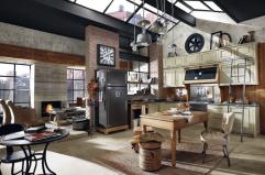 décoration loft, industrielle, esprit atelier
