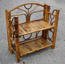 Etagères bambou, meuble exotique