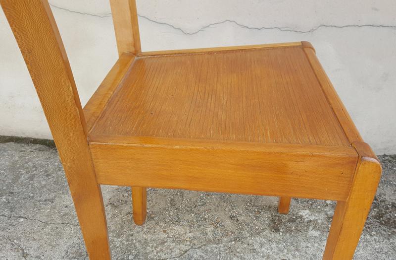 Broc co chaises bistrot vintage en bois thonet baumann