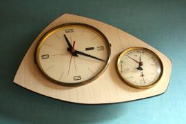 Pendule baromètre 1950