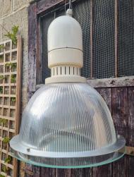 Suspension, lampe industrielle, style Mazda, vintage