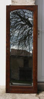 miroir porte armoire ancienne, années 50