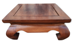 Table a opium, bois massif, exotique