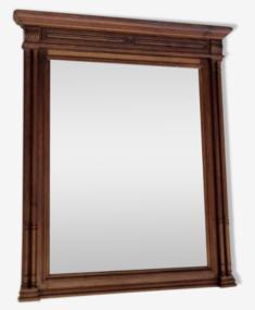 Miroir triptyque grand format vintage début XXème s
