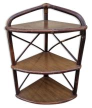Etagère bambou, vintage, années 60