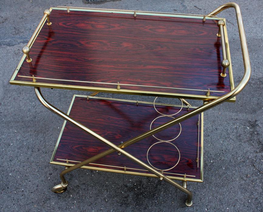 broc co dessertes vintage 1950 1960 et 1970. Black Bedroom Furniture Sets. Home Design Ideas