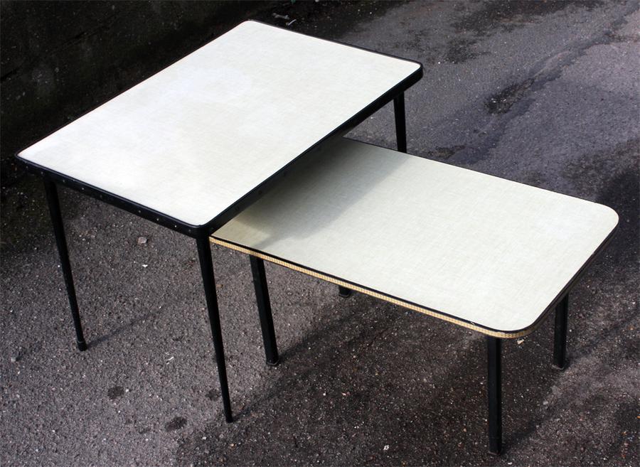 pas cher pour réduction 296ea 441cf BROC & Co : tables basse formica, tripode, table basse ...