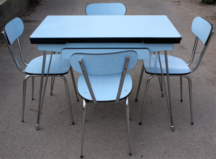 Broc co tables formica table cuisine formica 1950 for Table formica