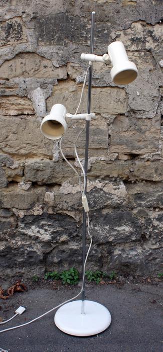 Lampadaires vintage ann es 50 60 et 70 lampadaire lampe - Lampadaire spots orientables ...