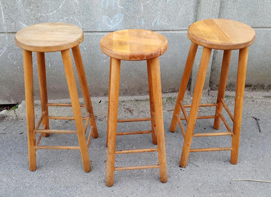 Broc co tabourets des ann es 1950 1960 et 1970 - Fabriquer tabouret de bar ...