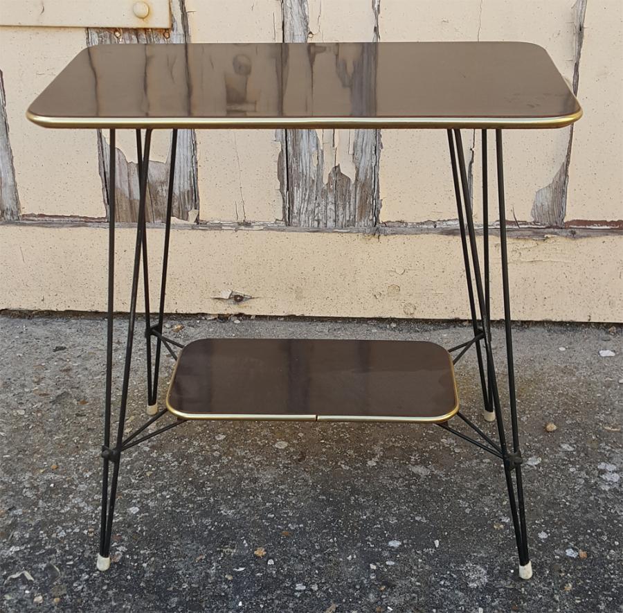 Table Basse En Formica broc & co : tables basse formica, tripode, table basse