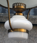 suspension opaline blanche 1950