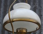 suspension opaline blanche 1950