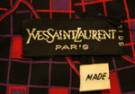 cravate vintage Yves Saint Laurent