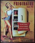 frigo américain vintage années 50, fifties