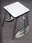table, chaise, tabouret,3 en 1 escamotalbe, Volo, formica, années 50