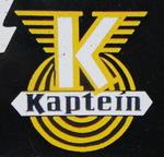 plaque publicitaire authentique, modèle orginal, Mobylette Kaptein, 1973