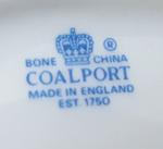 porte couteaux en porcelaine Coalport vintage