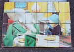 Boite de cubes Barbar, vintage, 1968