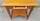 table bureau vintage années 40, bois doré