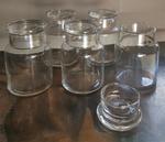 pots de verre apothicaire pharmacien