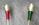 Grande applique vintage 2 torches, années 60, laiton et Bakélite