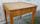 table carrée bois massif vintage, années 50