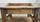 console d'atelier, esprit industriel, en bois, début XXème