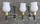 Paire appliques Maison Lunel, Néo classique, vintage, années 50