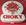 Grande enseigne lumineuse pendule Choky, collector, vintage, années 60