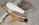 paire appliques laiton teck métal opaline vintage maison Arlus