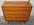 Commode vintage années 50, bois vernis, pieds bobines, vintage